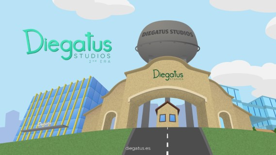 Diegatus Studios - 2-0 website beta background